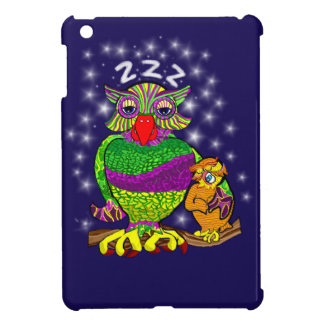 Sleepytime Owl and Baby Cover For The iPad Mini