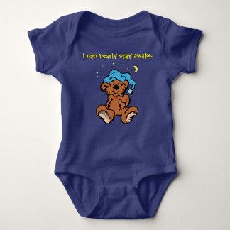 Sleepytime Teddy Bear I Can Bearly Stay Awake T Shirts