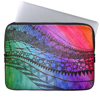Sleeve for Tablet/laptop, colors of the rainbow