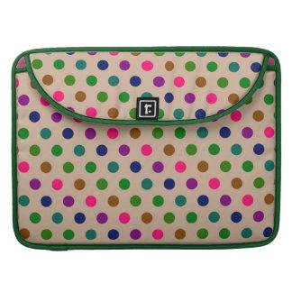 Sleeve MacBook Polka Dots MacBook Pro Sleeves