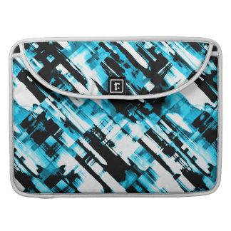 Sleeve MacBook PRO Blue Black digitalart G253