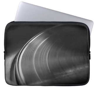 Sleeve: Vinyl Record and Turntable Laptop Computer Sleeves