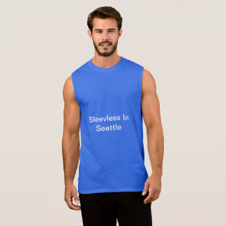 Sleeveless In Seattle - Mens Tshirt