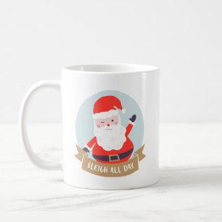 Sleigh All Day Coffee Mug