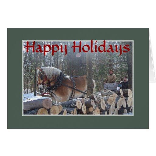 SLEIGH BELLS RING Christmas Card
