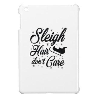 Sleigh Hair Don't Care iPad Mini Covers