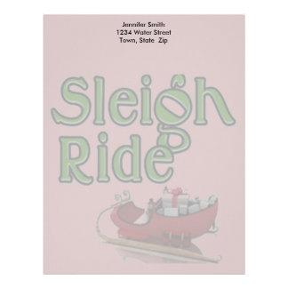 Sleigh Ride Letterhead