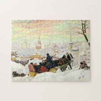 Sleigh Ride Painting Puzzle