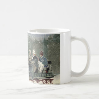 Sleigh Ride, Stowe Vermont Coffee Mug