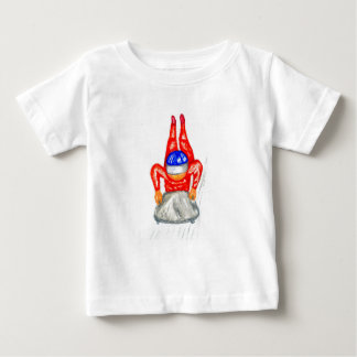 Sleigh Sport Watercolor2 Baby T-Shirt