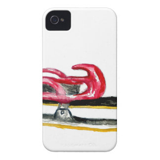 Sleigh Sport Watercolor iPhone 4 Case-Mate Cases
