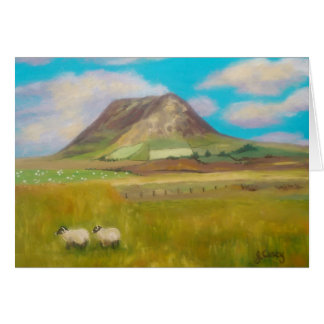 Slemish Mountain Greeting Card by Joanne Casey