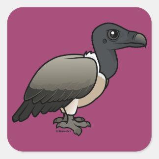 Slender-billed Vulture Square Sticker