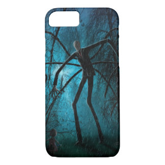 Slender Man and the Lost Soul iPhone 7 Case