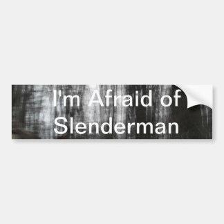 Slenderman Forest Bumper Sticker