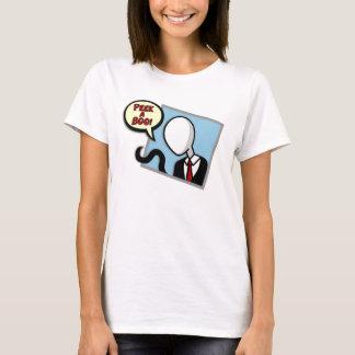 Slenderman on your window-Womens t-shirts/sweaters T-Shirt