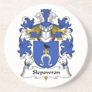 Slepowron Family Crest Coaster