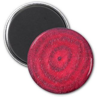 Slice of beetroot magnet