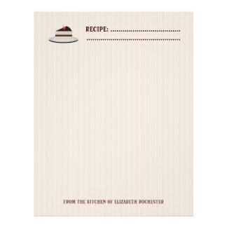 Slice of Cake Flyer Design