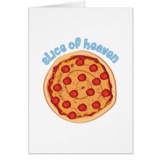 Slice Of Heaven Card