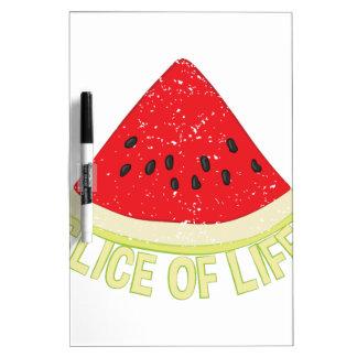Slice Of Life Dry Erase Board