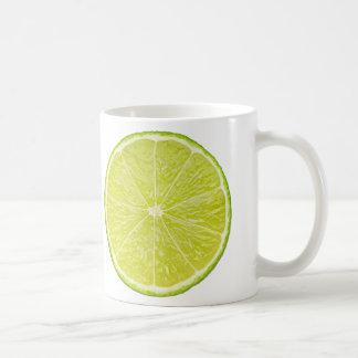 Slice of lime coffee mug