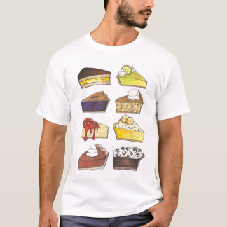 Slice of Pie Dessert Pies Cheesecake Foodie Tee
