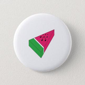 Slice of Water Melon 2 Inch Round Button
