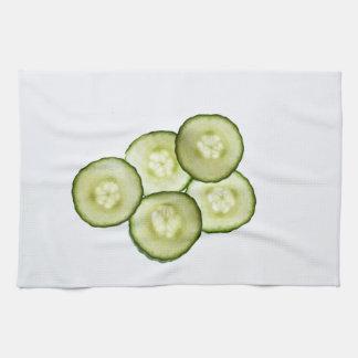 Sliced Cucumber Kitchen Towel