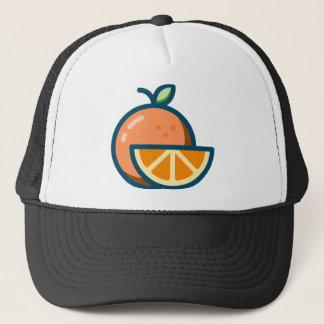 Sliced Orange Trucker Hat