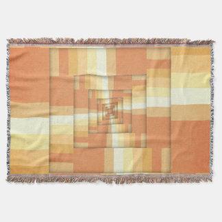 Slices of Orange Throw Blanket