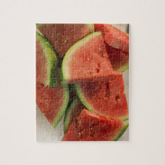 Slices of watermelon jigsaw puzzle