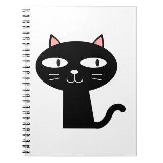 Slick Black Cat Notebook