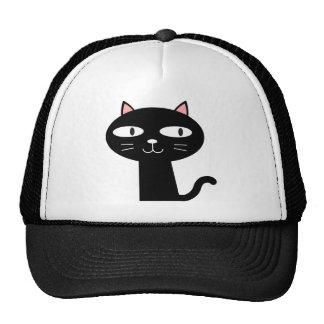 Slick Black Cat Trucker Hat