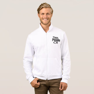 Slick Jesus People Fleece Jogger Jacket