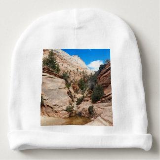 Slick Rock Zion National Park Utah Baby Beanie