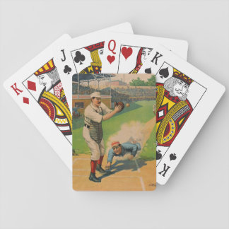 Sliding Home 1897 Playing Cards