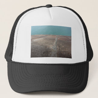 Sliding into the blue sea trucker hat