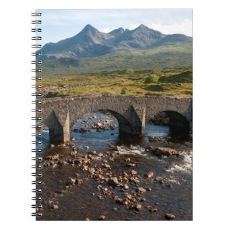 Sligachan Bridge, Isle of Skye, Scotland Spiral Notebooks