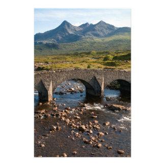 Sligachan Bridge, Isle of Skye, Scotland Stationery Design
