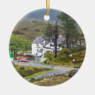Sligachan Hotel, Isle of Skye, Scotland Ceramic Ornament