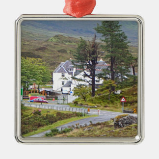 Sligachan Hotel, Isle of Skye, Scotland Metal Ornament