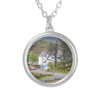 Sligachan Hotel, Isle of Skye, Scotland Silver Plated Necklace