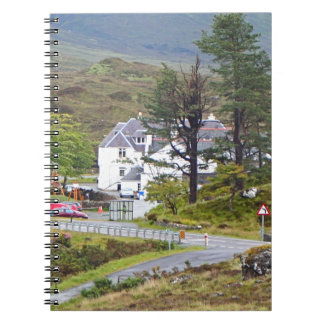 Sligachan Hotel, Isle of Skye, Scotland Spiral Notebook