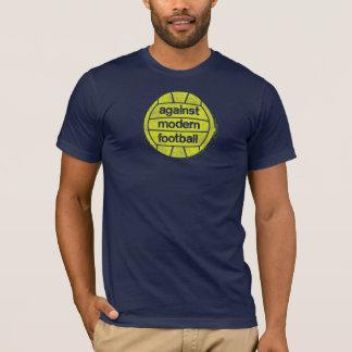 Slightly Smaller Against Modern Football logo T-Shirt