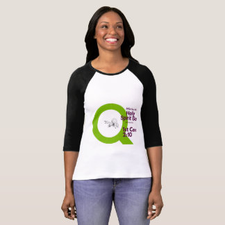 Slim Fit T-shirt with a christian scripture