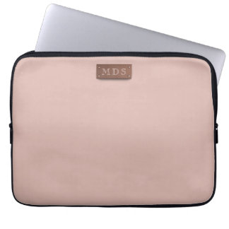 Slim Millennial Pink Laptop Sleeve