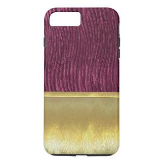 Slim Shell Gold Purple Design Case