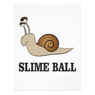 slime ball snail letterhead