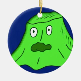 slime Monster Ceramic Ornament